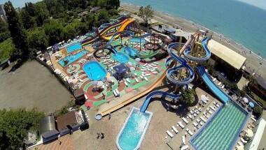 Где находится аквапарк в Абхазии