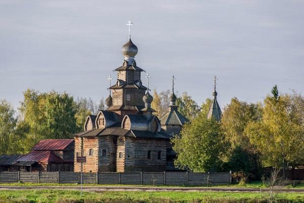 Преображенская церковь из села Козлятьево