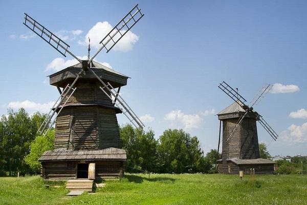 Мельницы из села Мошок