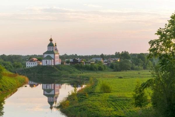 Ильинский луг и река Каменка