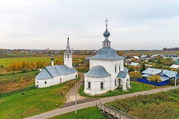 Богоявленская и Рождественская церкви в Кожевенной слободе