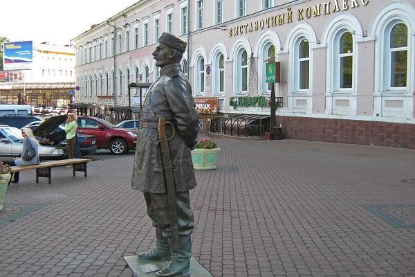Скульптура Городовой
