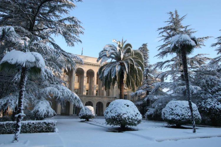 Абхазия в декабре