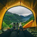 Кемпинг в высокогорье