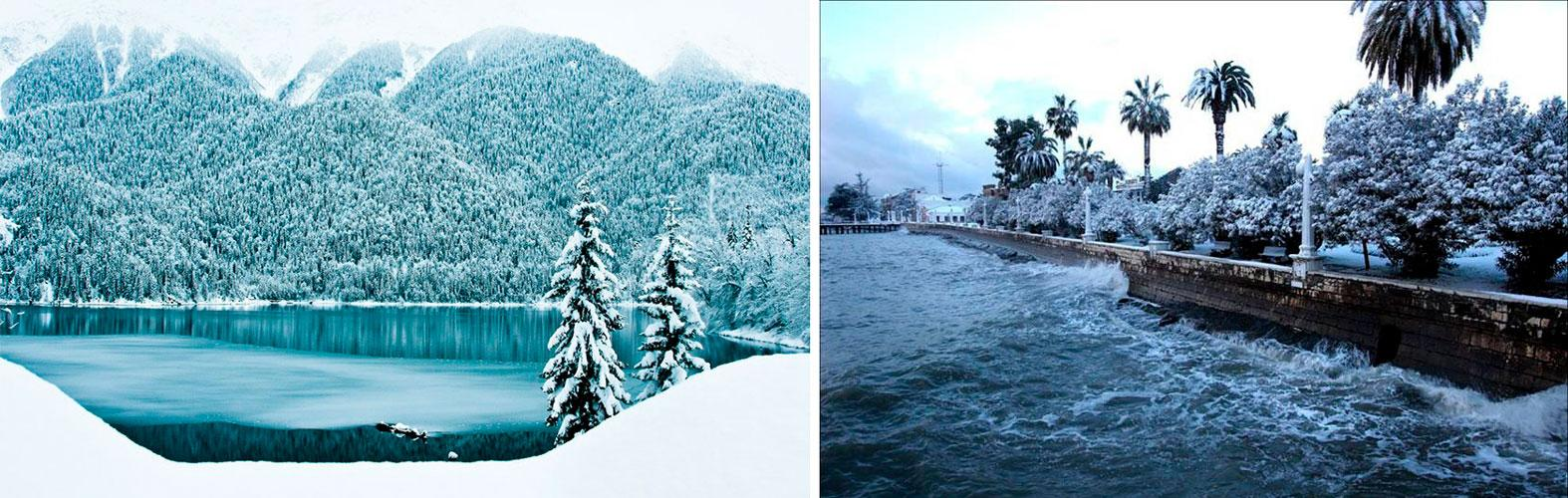 Стоит ли ехать в Абхазию зимой